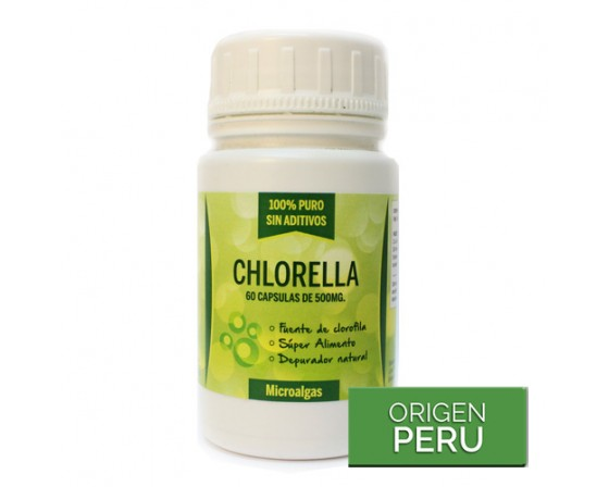 Alga Chlorella 100% Natural